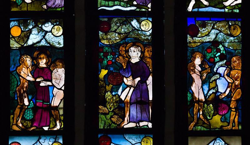 Schöpfungsf. nII z6: Verlobung von Adam und Eva / Baum der Erkenntnis / Sündenfall