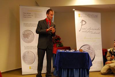 1. Slovenski naložbeni srebrnik - novinarska konferenca, 23. junij 2009