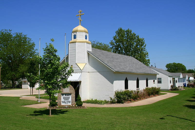 St. Mary Ukranian Orthodox Church - Jones, OK
