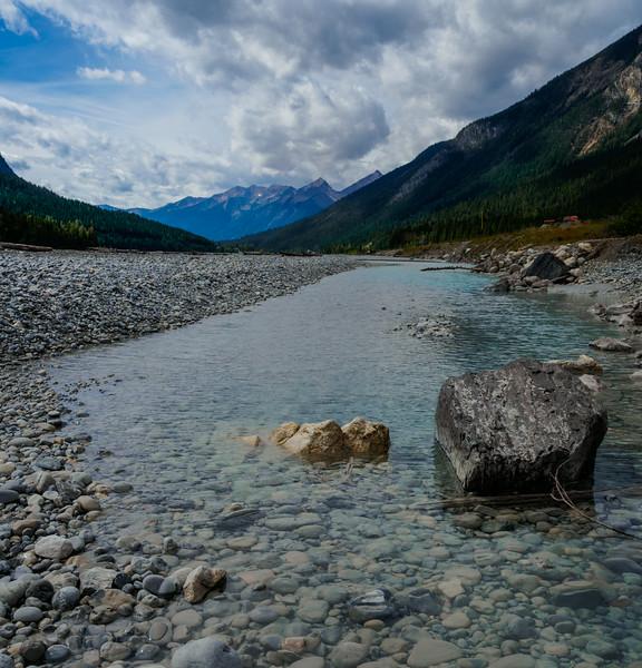 Stones, along Canada Highway 1.
