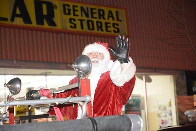 2018 Santa Coming to Danville