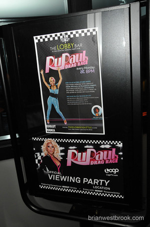 RuPaul's Drag Race at The Lobby Bar Seattle w/Gaysha Starr (1 Mar 2010)