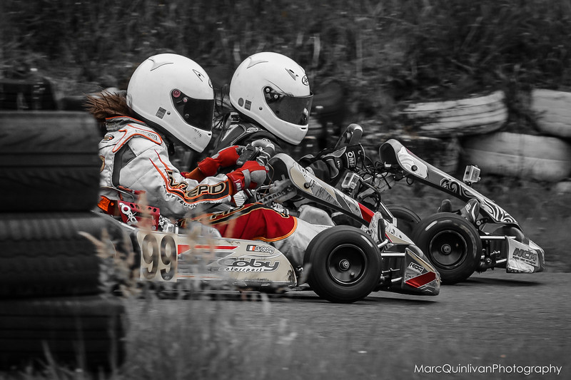 Leinster Karting Club - 2015 Summer Championship - Round 4 - Alyx Coby