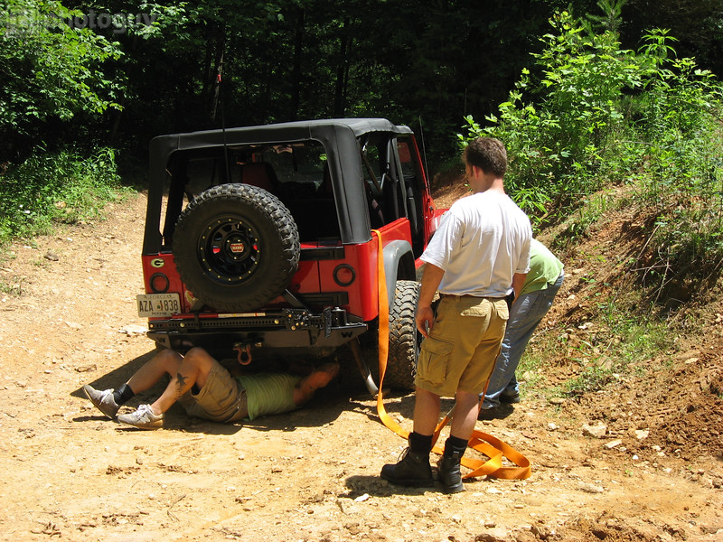 Mike Helps Fix Offroad Damage, GA