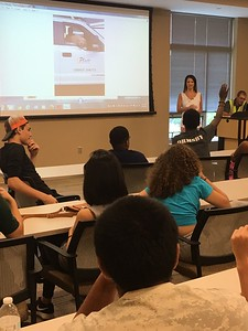 Plum Contracting Hosts Students on Career Day