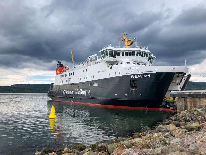 CalMac ferry to Islay in Scotland