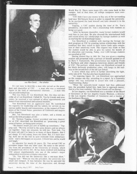 SoCal, Vol. 62, No. 115, May 03, 1971