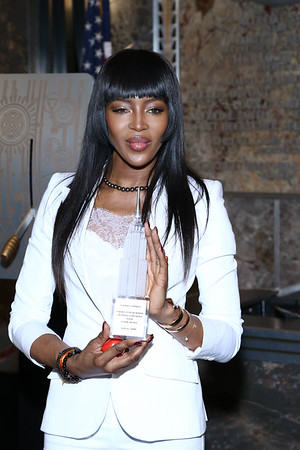 NAOMI CAMPBELL-RED NOSE DAY