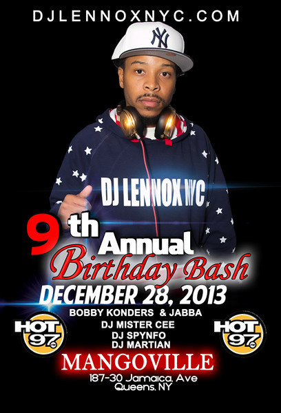 DJLENNOXNYC 9Annual Bday Bash AKA Lights camera action-Red-Carpet-Affair