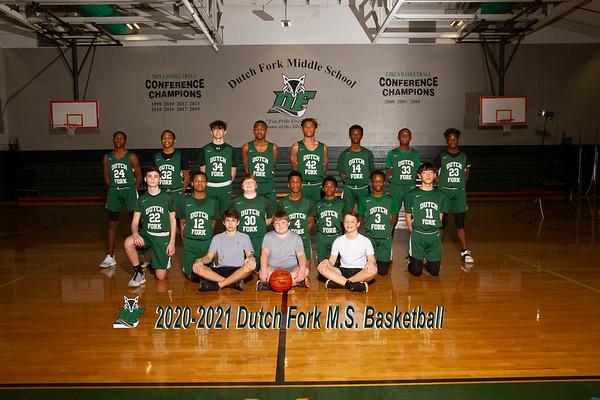 2020-2021 MS Basketball Boys