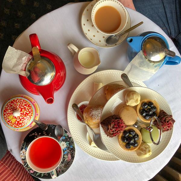 High Tea at Chateau Tongariro