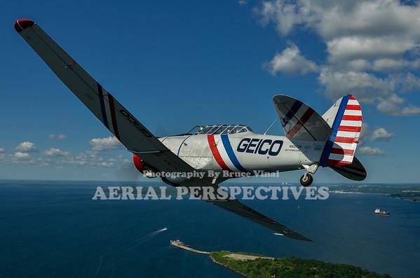 GEICO Skytypers Flight 6/15/12 N62382 N60734