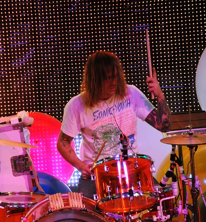 Kliph Scurlock,The Flaming Lips,The Ryman Auditorium, Nashville,Tennessee,2011
