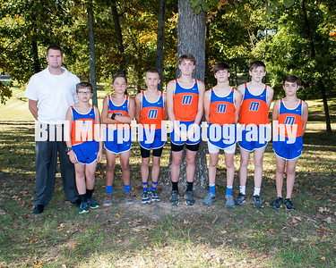 2017 Marshall County Middle School Cross Country Teams