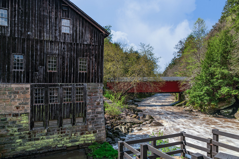 McConnell Mills Covered Bridge 4
