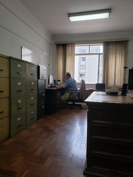 """the """"office"""" in downtown Sao Paulo"""
