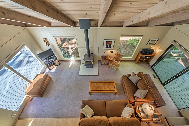 View of Living Room from Above