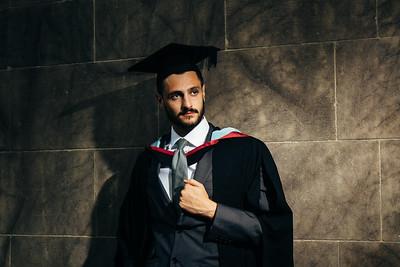 Toby Graduation