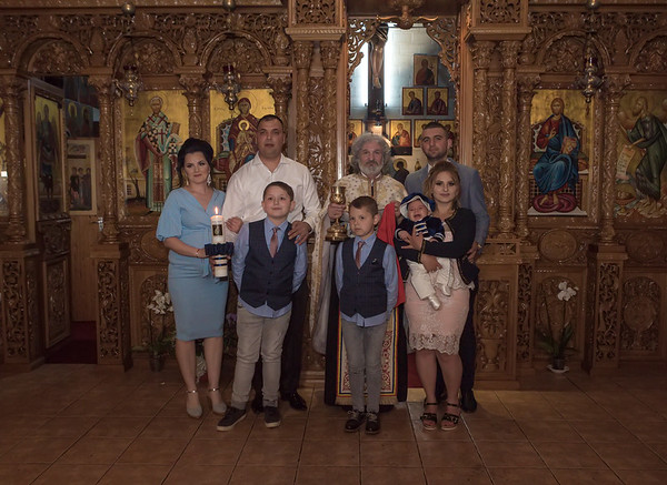 Kevin Andrei's Christening