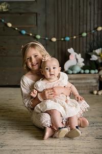 Claire & Cora {Easter Mini}