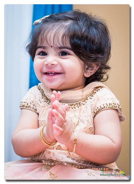Nithya 1st Birthday Celebration 2017