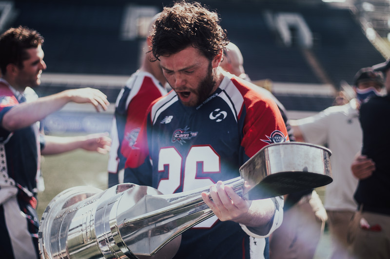 7/26/2020; Annapolis, MD, USA; Cannons vs. Outlaws - Championship - at Navy Marine Corps Memorial Stadium. Mandatory Photography Credit: Jamal Cooley