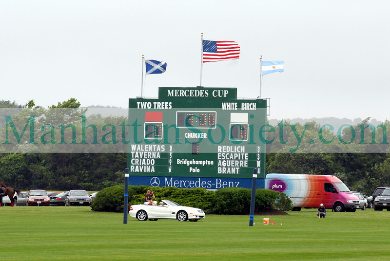 MERCEDES-BENZ POLO CHALLENGE AT THE BRIDGEHAMPTON POLO CLUB