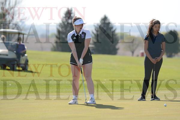 Baxter at Colfax-Mingo Golf 4-26-21