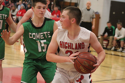 Highland vs Cassville Boys Basketball 1-23-20