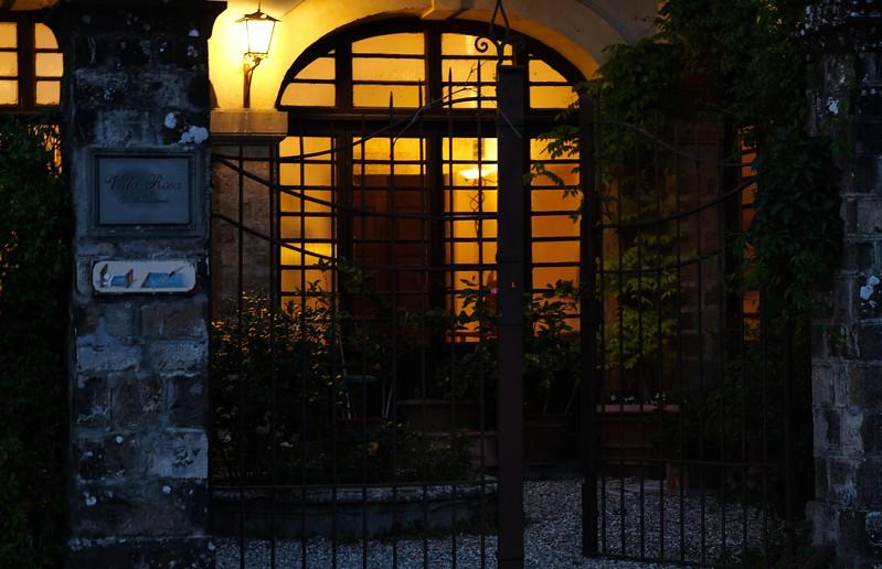 Night at Villa Rosa