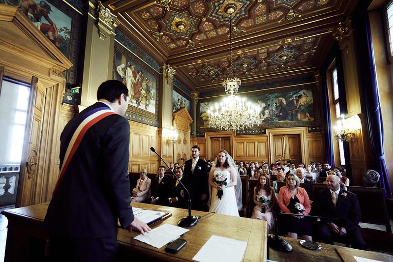 Megan & Jeremy- un mariage à Paris