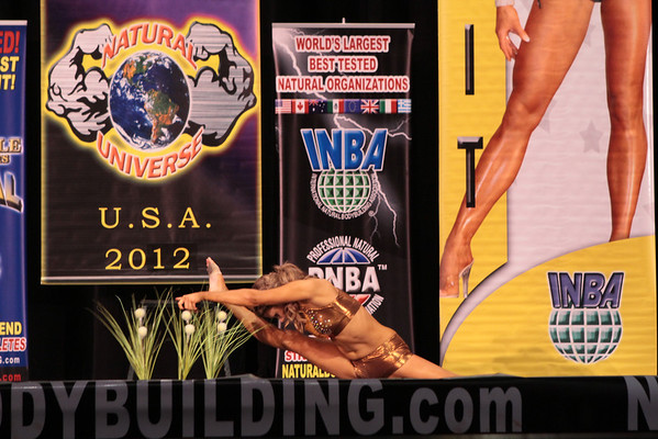 2012 INBA Natural Universe Finals In Chicago, ILL.