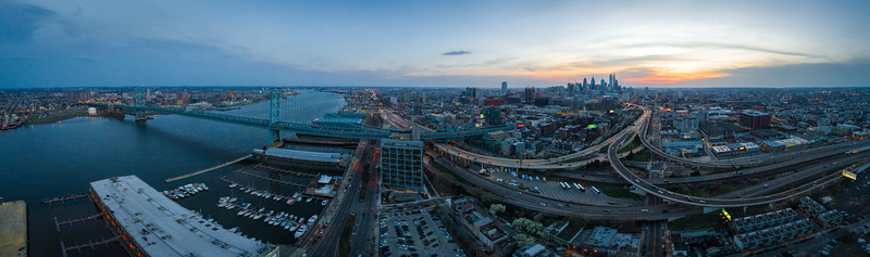 Philly Bridge and City Looking South above Penns Landing-.jpg