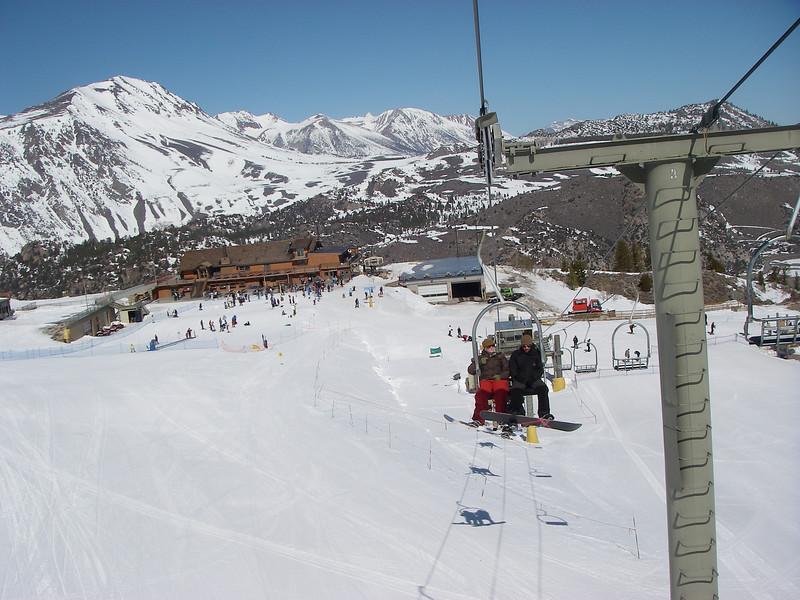Next day we were at June Lake Ski Resort