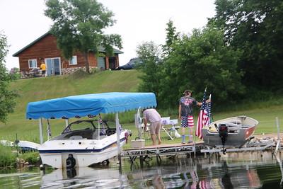 2019 Buffalo Lake - 4th of July Boat Parade