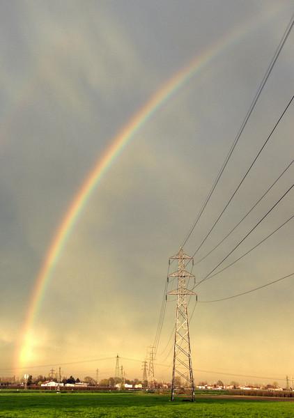 Rainbow - Crevalcore, Bologna, Italy - March 30, 2010