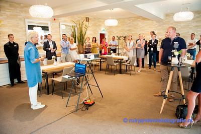 Business Breakfast Club RonaldMcDonald Huis Sophia Rotterdam  zomer bbq Lommerrijk