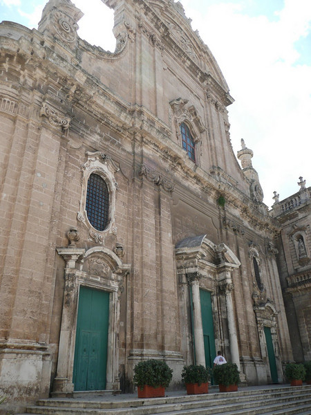 Cathedral, Monopoli - Built in 18th Century
