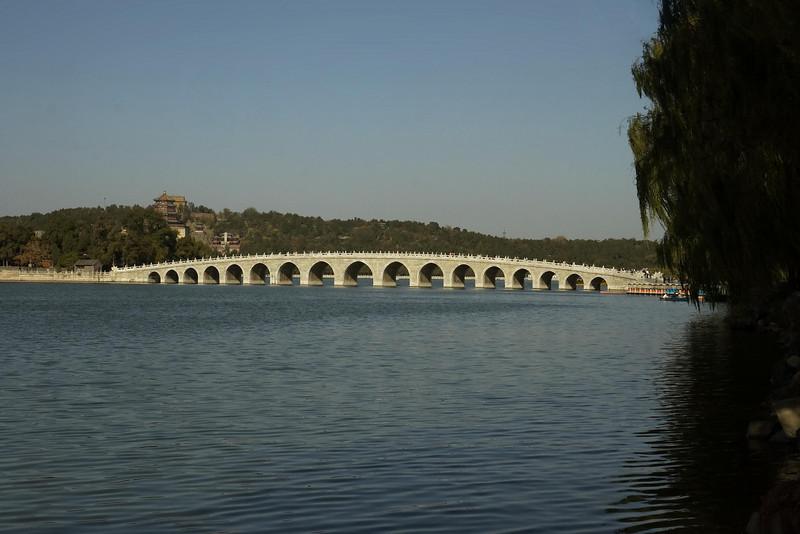 Summer Palace - Seventeen Arch Bridge (1), Beijing, China (11-4-08).psd