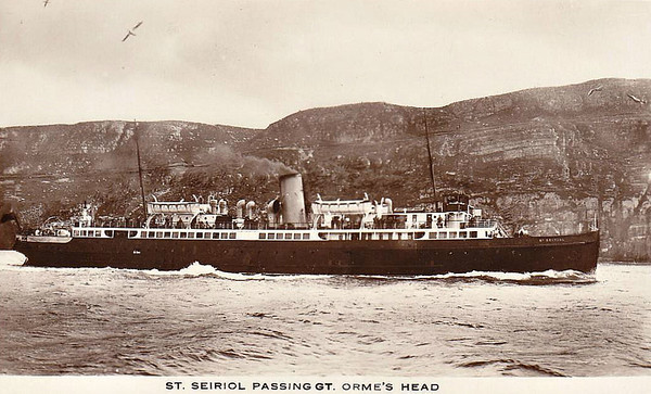 LIVERPOOL & NORTH WALES S.S. CO., Liverpool.