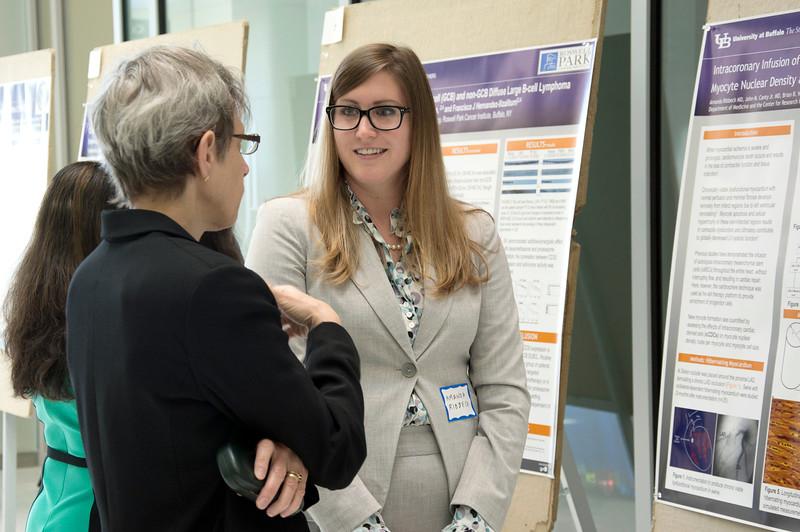 2014 Dept. of Medicine Reseacrc Day; CTRC; Susan Grahm; Amanda Ribbeck