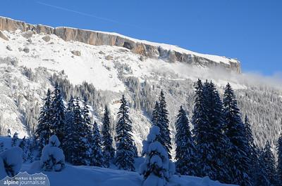 Steinmandl snow shoe tour 2012-12-01