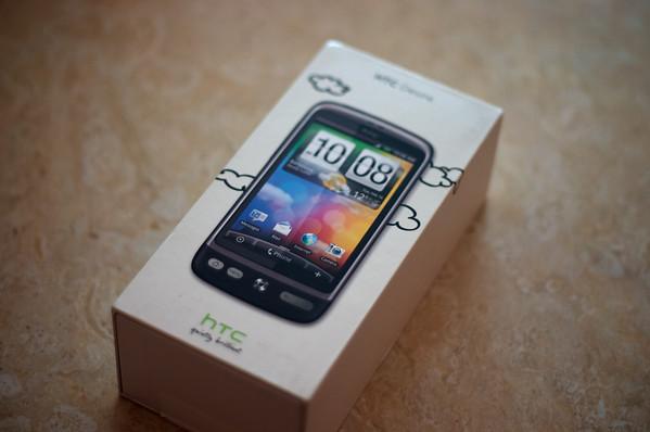 HTC Desire Unboxing