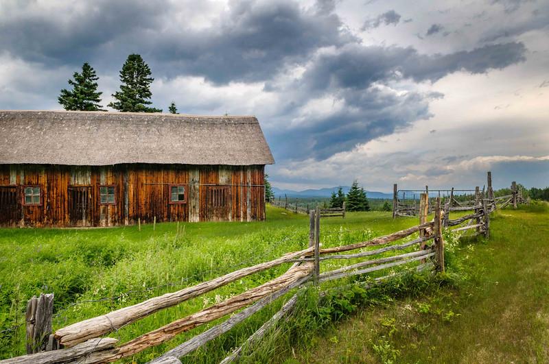 Barn Outside Quebec, Canada