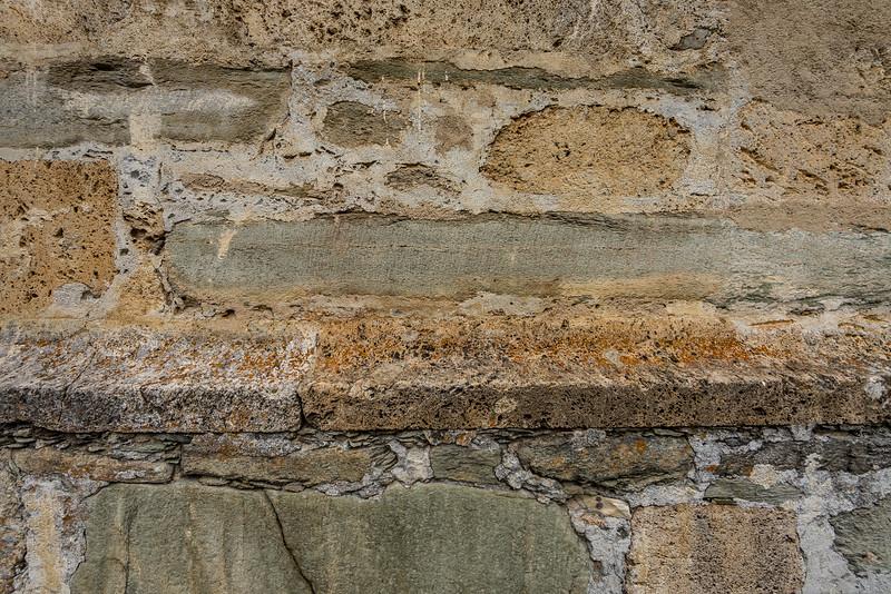 Benediktinerinnenkloster St. Johann in Müstair: Mauerwerk mit Geschichte
