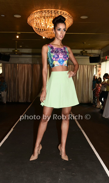 Kassandra Cruzl walks the runway at  the Catwalk for Canines ethical & eco fashion show to benefit the Southampton Animal foundation at the Southampton Social Club in Southampton on Saturday, June 10, 2017.