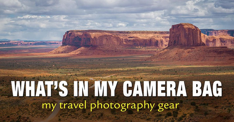 What's In My Camera Bag - My Travel Photography Gear