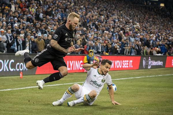 MLS Cup Western Final: Sporting KC vs Portland Timbers