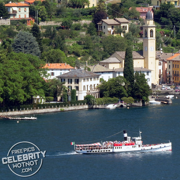 George Clooney and Amal's $131 Million Property, Villa Oleandra, on Lake Como, Laglio, Italy