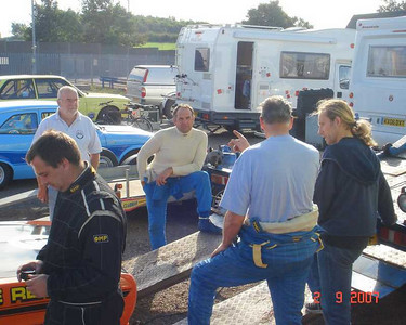 Donnington People and Cars 2nd September 2007